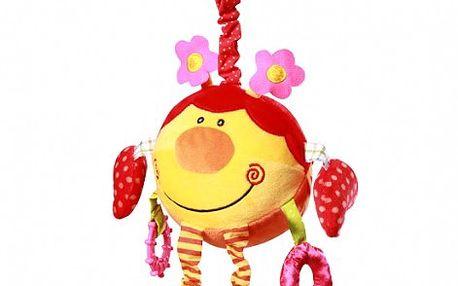 Baby Ono - závěsná plyšová hračka - koule - míč Beruška kat. 1184