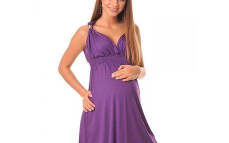 Těhotenské dámské šaty Viola - Violet 8423 - různé vel.