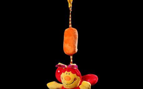 Baby Ono - plyšová hračka s klipem a rolničkou 1176 - beruška