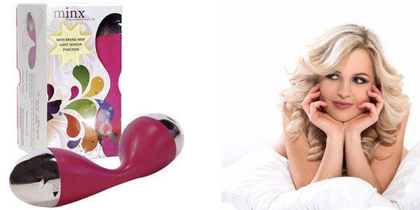 Anatomicky tvarovaný vibrátor Love Drops