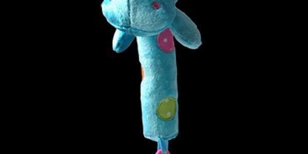 Baby Ono - pískací hračka s kousátkem 998 - Hroch