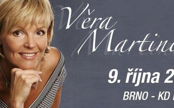 Věra Martinová se svojí country kapelou Gram