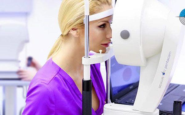 Komplexní oční vyšetření na soukromé oční klinice OFTUM Prague na Pankráci