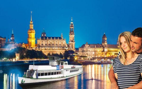 ROMANTICKÁ PLAVBA Saským Švýcarskem do Drážďan nebo Hřenska včetně OBĚDA nebo VEČEŘE NA PARNÍKU za skvělých 999 Kč! Na palubě živá hudba, průvodce a pojištění!