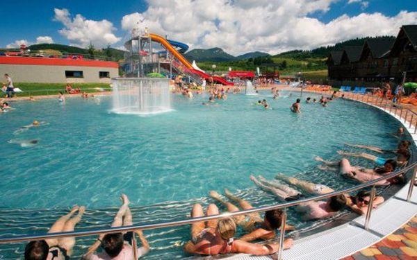 Dovolená s polopenzí a wellness ve 4* hotelu u aquaparku Bešeňová