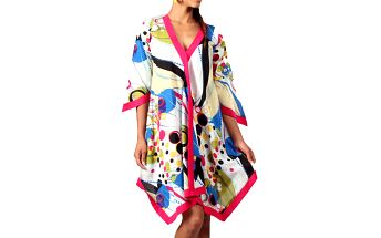 Dámská barevná šátková tunika Aller Simplement