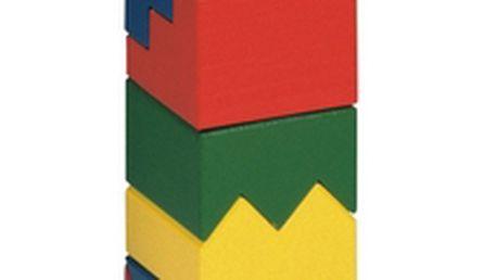 Bino 81035 - Skládací věž barevná