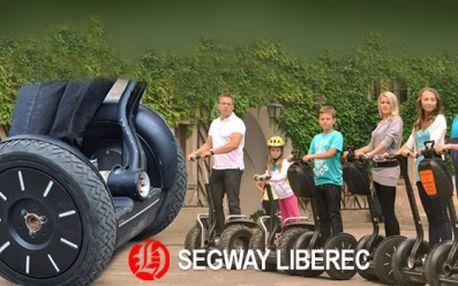 Projeďte se na vozítku SEGWAY! Půlhodinová nebo hodinová projížďka podél Lužické Nisy s průvodcem od fantastických 199 Kč! Užijte si báječnou jízdu se slevou 50%!