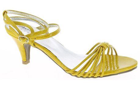 Dámské žluté střevíčky Andrea Conti