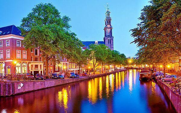3denní zájezd do Amsterdamu pro 1 osobu