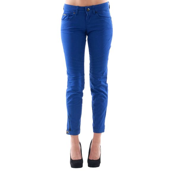Dámské modré kalhoty Fornarina