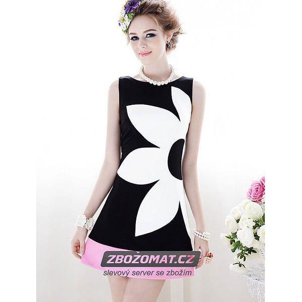 Úžasné retro šaty s květinou!