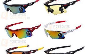 Sportovní brýle - 6 barevných provedení a poštovné ZDARMA! - 22012208
