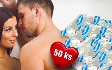 Balíček 50 ks kondomů Primeros Classic pro bezpečné milování!