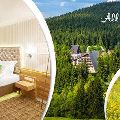 All inclusive na 4-8 dní v luxusním Pytloun Hotelu**** Harrachov