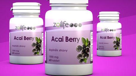 Açai Berry (přírodní extrakt): bezpečné hubnutí, detoxikace, zvýšení energie aj.