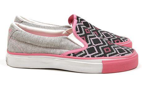 Dámské růžovo-šedé boty Pony