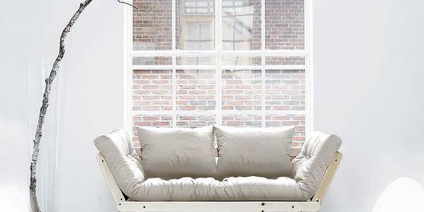 Rozkládací sofa KARUP BEAT PINE/NATURAL