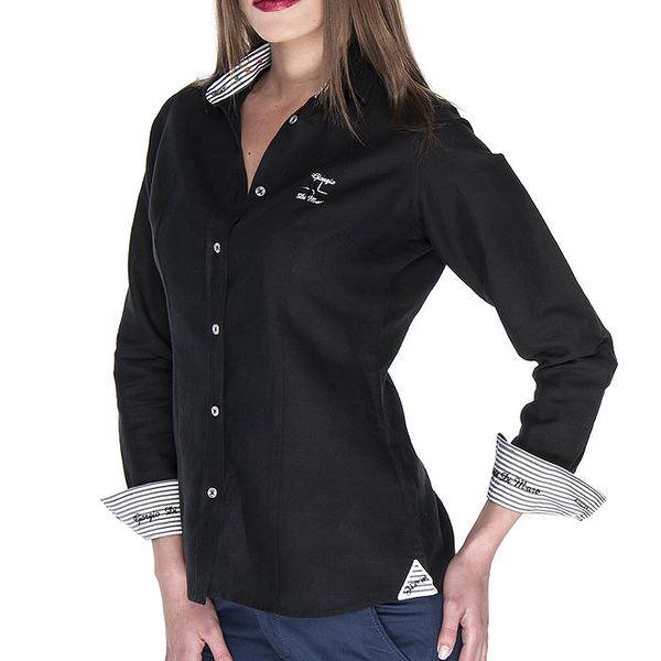 Dámská černá košile Giorgio Di Mare