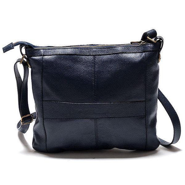 Dámská modrá kabelka přes rameno se zlatými komponenty Isabella Rhea 1eb3a96ee80