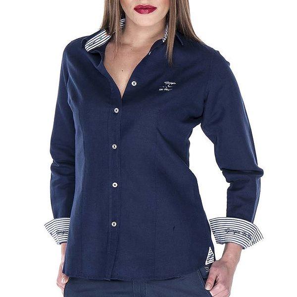 Dámská tmavě modrá košile Giorgio Di Mare