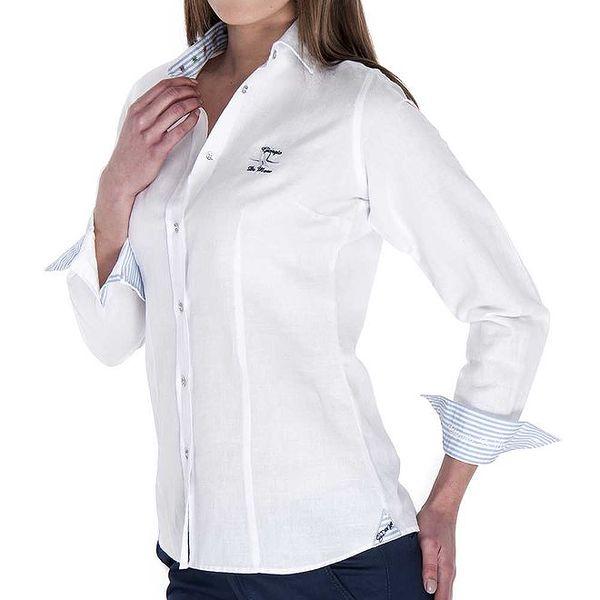 Dámská bílá košile Giorgio Di Mare
