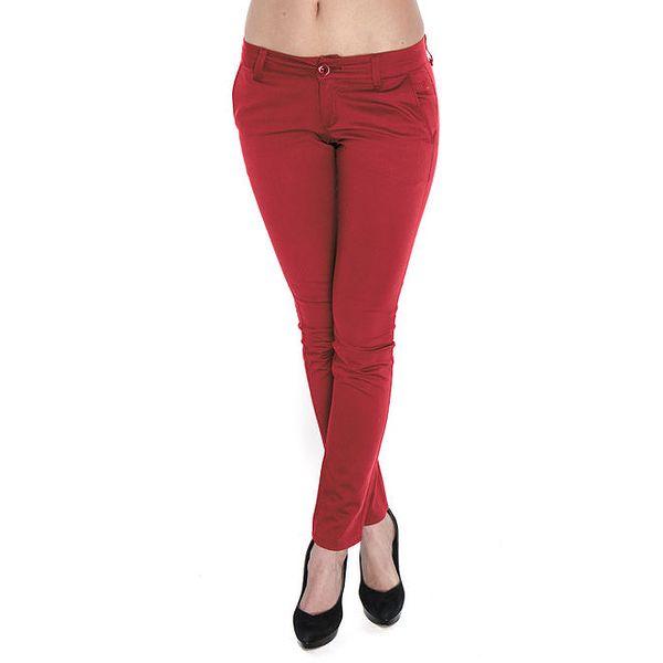 Dámské červené kalhoty Giorgio di Mare