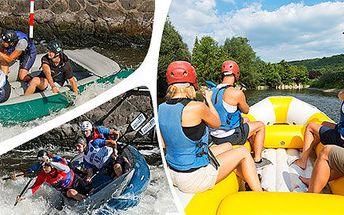 Rafting v Rakousku i raftová akademie v ČR (3 dny)