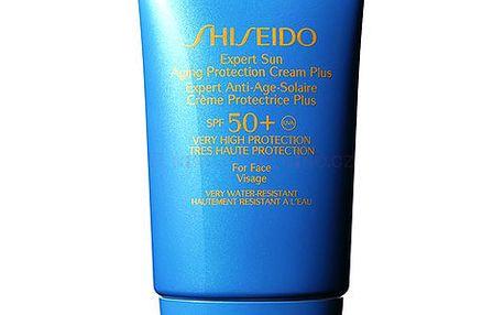 Shiseido Expert Sun Protection Cream Plus SPF50 50ml Kosmetika na opalování, poškozená krabička