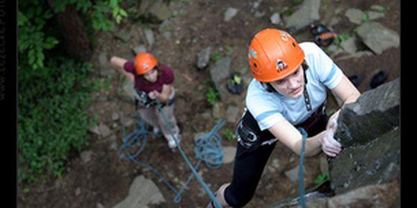 Jednodenní kurz horolezectví na skalách