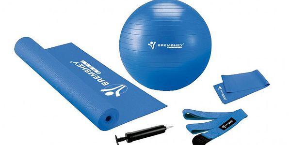 Bremshey Pilates & Fitness set pro domácí cvičení jógy a pilates