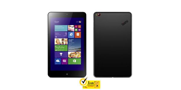 "Dotykový tablet Lenovo ThinkPad Tablet 8 (8,3"", 64 GB, WF, BT, Win 8.1)"