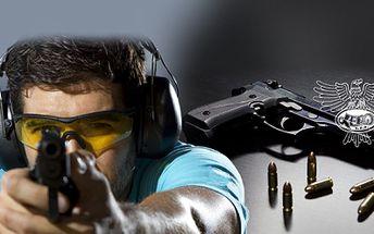 STŘELBA ze 3, 10 nebo 15 ZBRANÍ (až 106 ks NÁBOJŮ) již od 599 Kč! Zahrajte si na snipera, ovládněte zbraně z počítačových her jako jsou Counter Strike a vyzkoušejte si zbraň nejvíce používanou akčními hrdiny!