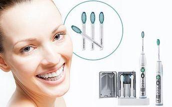 Zubní kartáček Philips Sonicare: 4 nebo 8 náhradních hlavic