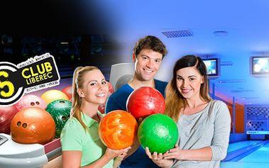HODINA BOWLINGU až pro 8 hráčů za skvělých 99 Kč! Přijďte se pobavit s přáteli na kvalitních bowlingových dráhách do S clubu v Liberci s báječnou slevou 51% až do ZÁŘÍ!