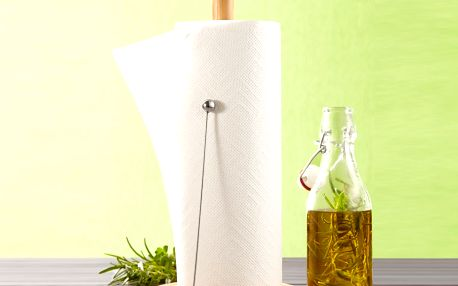 Stojan na papírové kuchyňské utěrky