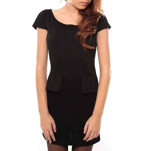 Dámské černé šaty s kanýrkem My Little Poesy