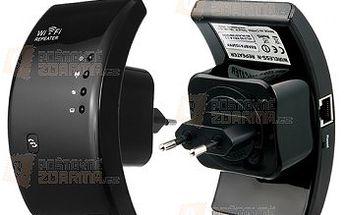 Mini WiFi repeater do zásuvky a poštovné ZDARMA! - 22906917