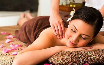 Hodinová egyptská masáž: aroma, nohou či antistresová hlavy
