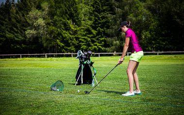 Golfový pobyt na 3 dny pro 2 osoby vč. wellness a golf fee pro dva za akční cenu!