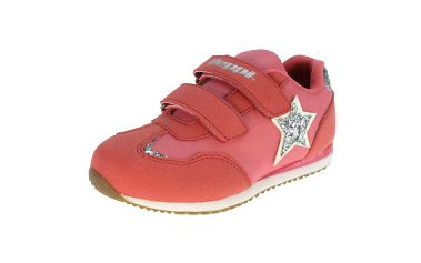 Dětské růžové tenisky s hvězdou Beppi