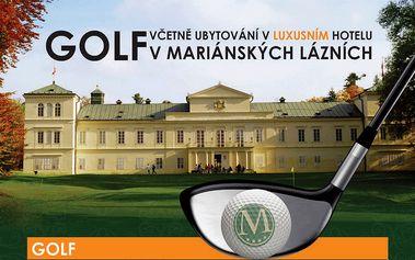 2 denní golfový pobyt superior se snídaní a dvěma golf. fee pro 2 osoby za akční cenu!