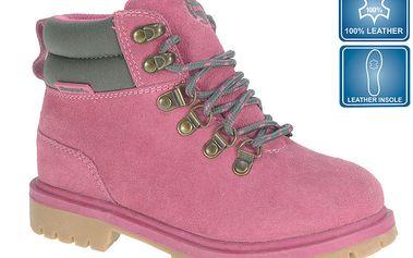 Dámská růžová obuv s šedými detaily Beppi