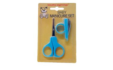 Beautiful Beginnings - manikura - sada na úpravu dětských nehtů - modrá
