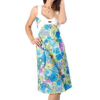 Dámské šaty s květinovým vzorem Avantgard