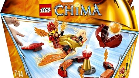 LEGO CHIMA - speedory 70155 - Pekelná brána