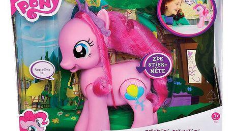 Hasbro A1384 - My Little Pony - Chodící a mluvící Pinkie Pie