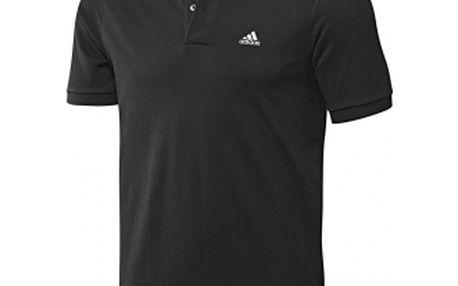 Pánské polo triko - Adidas ESS POLO BLACK černá