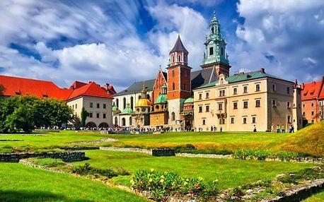 Pobyt v Krakově pro dva se snídaní v hotelu nedaleko historického centra města