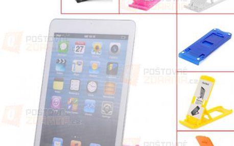 Skládací stojánek na tablet nebo telefon - 6 barev a poštovné ZDARMA! - 22512395